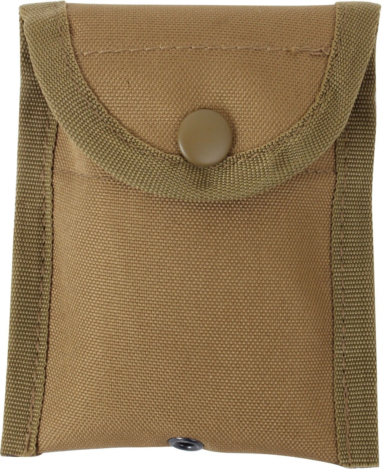 Coyote Brown MOLLE Compatible Compass Pouch