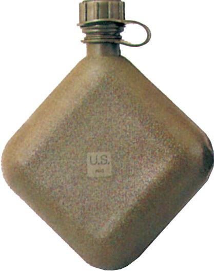 Olive Drab - Genuine GI 2 Quart Bladder Canteen - USA Made
