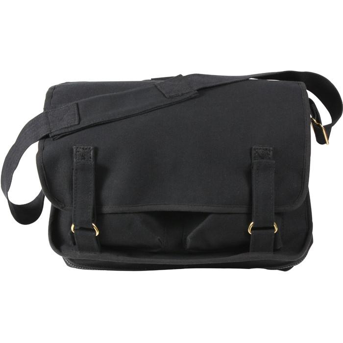 Black - European Style School Shoulder Bag