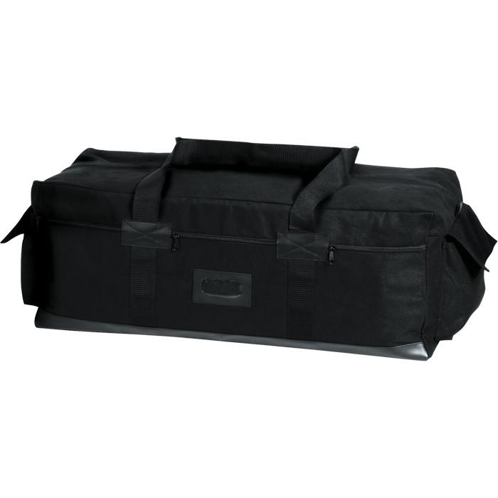 Black - Israeli IDF Tactical Duffle Carry Bag 34 in. x 15 in. x 12 in. - Canvas