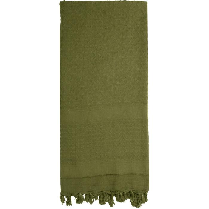 Olive Drab - Solid Color Shemagh Tactical Desert Scarf
