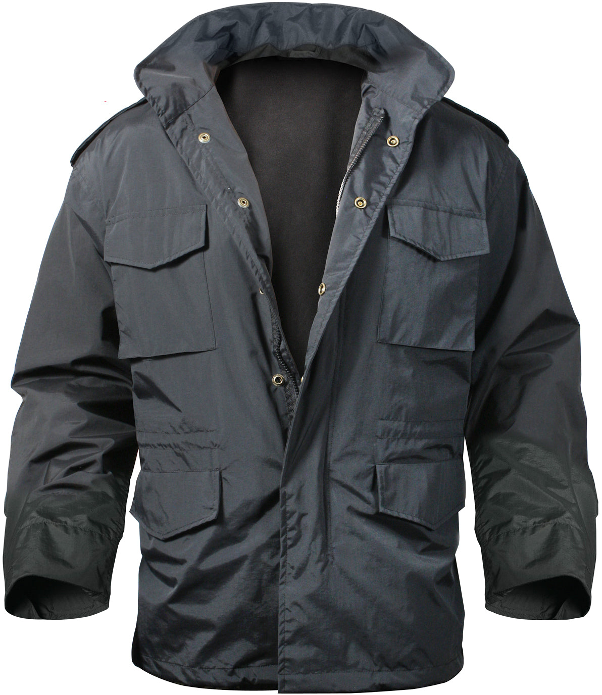 Black - Water Resistant M-65 Storm Jacket