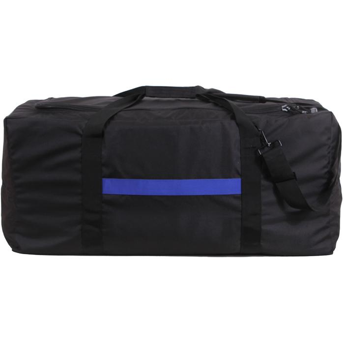 Black - Thin Blue Line (Support the Police) Law Enforcement Tactical Gear Bag