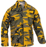 Yellow Camouflage - Military BDU Shirt