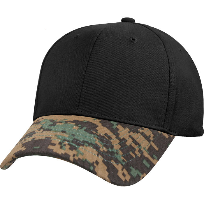 Woodland Digital Camouflage - Two-Tone Low Profile Cap