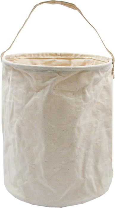 Khaki - Natural Canvas Water Bucket 13 in. x 11 in.