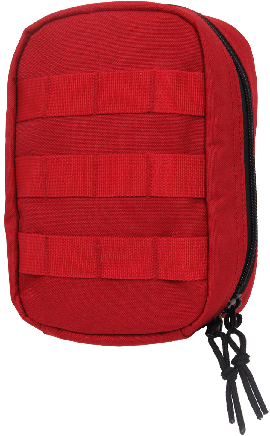 Red - Tactical MOLLE Compatible First Aid Pouch