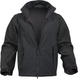 Black - Tactical Soft Shell Public Safety Uniform Jacket
