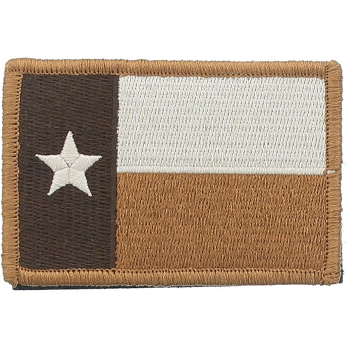 Texas Flag Military Velcro Patch 3