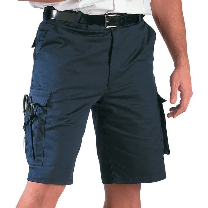 Navy Blue - EMT Shorts - Polyester Cotton Twill