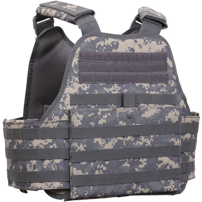a98faec7f327d ACU Digital Camouflage - Military Tactical MOLLE Plate Carrier Armor Vest