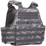 ACU Digital Camouflage - Military Tactical MOLLE Plate Carrier Armor Vest