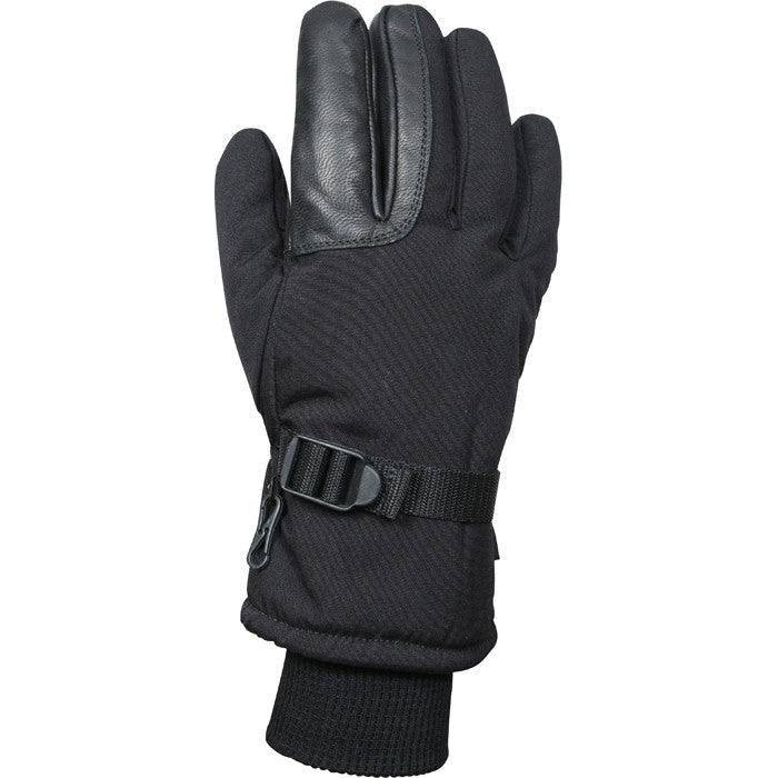Black - Cold Weather Thermoblock Insulated Military Gloves