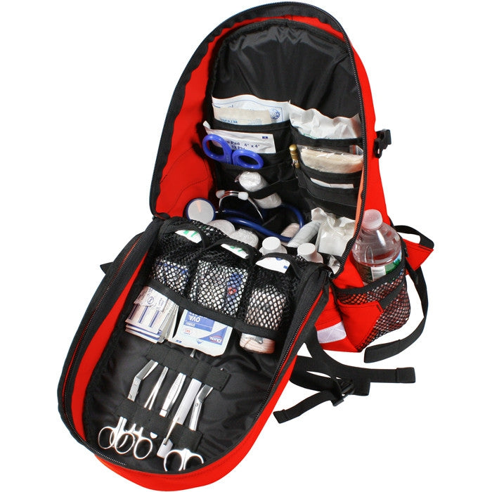 Red - EMS Trauma Backpack