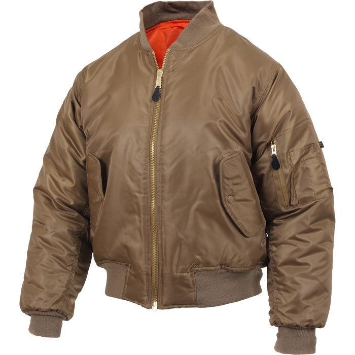 Coyote Brown - Air Force MA-1 Bomber Flight Jacket