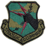 Subdued - US Air Force STRATEGIC AIR COMMAND Military Patch