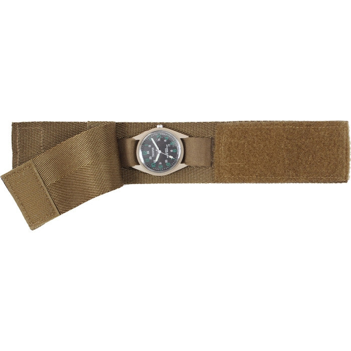 Coyote Brown - Military GI Style Commando Watch Band
