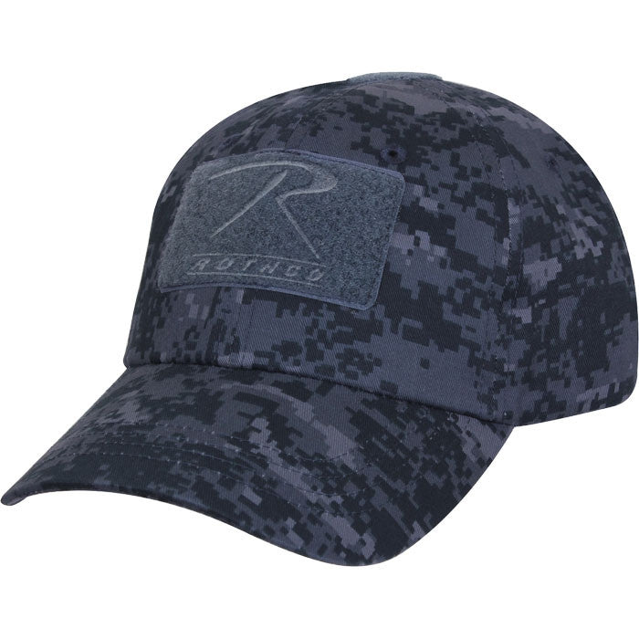 Digital Midnight Camouflage - Military Adjustable Tactical Operator Cap