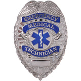 EMT Badge with Star of Life Emblem