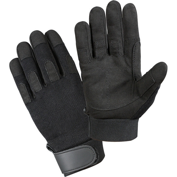 Black - Lightweight All Purpose Tactical Duty Gloves