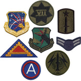 Assorted Military Patches - 500 Pack