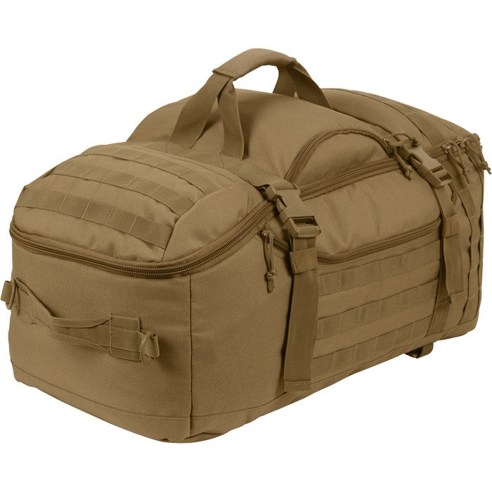 Coyote Brown - 3 In 1 Convertible Mission Bag