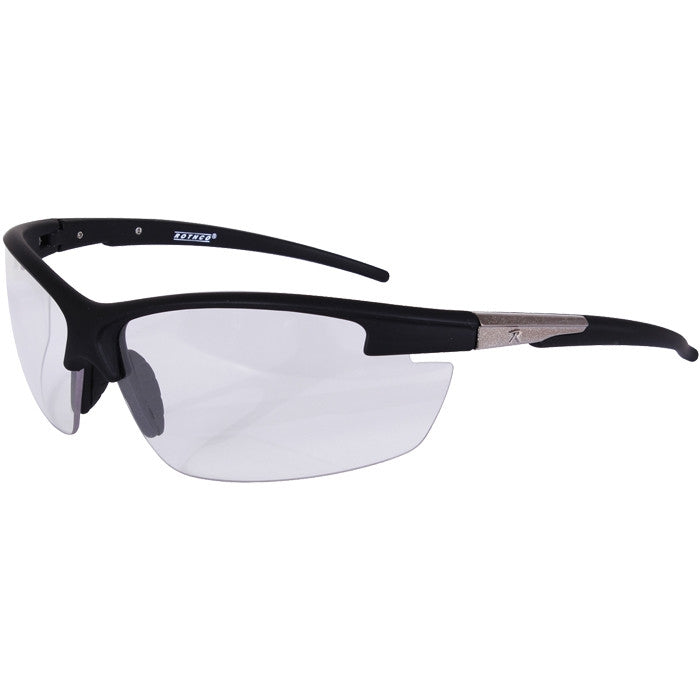 Black   Clear - AR-7 Sports Glasses