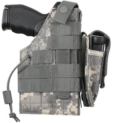 ACU Digital Camouflage - Tactical Military MOLLE Pistol Holster