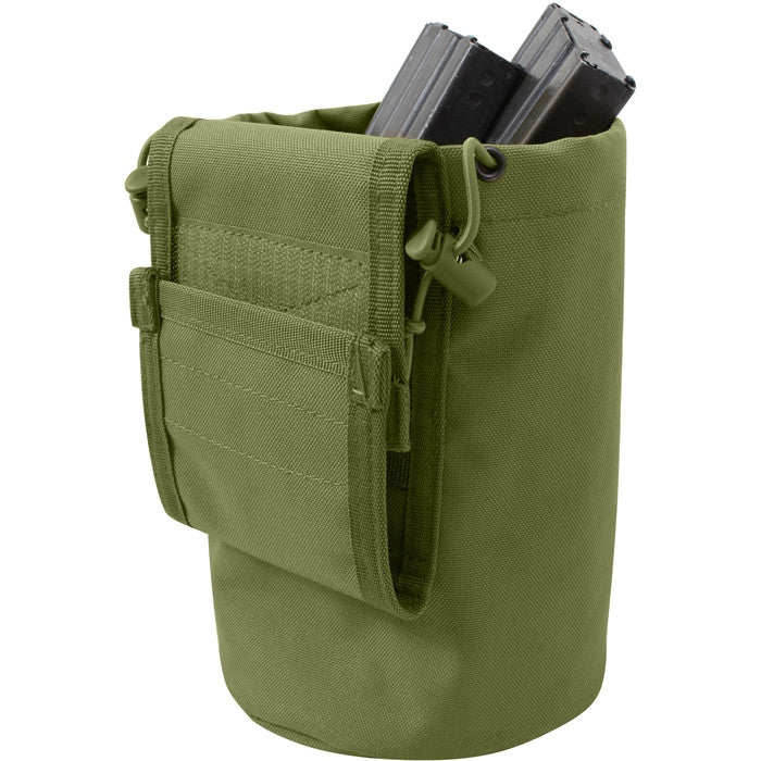 Olive Drab - Tactical MOLLE Roll Up Utility Dump Pouch