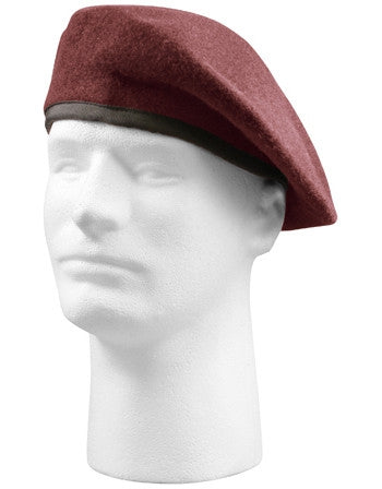 Maroon - Inspection Ready Military Beret