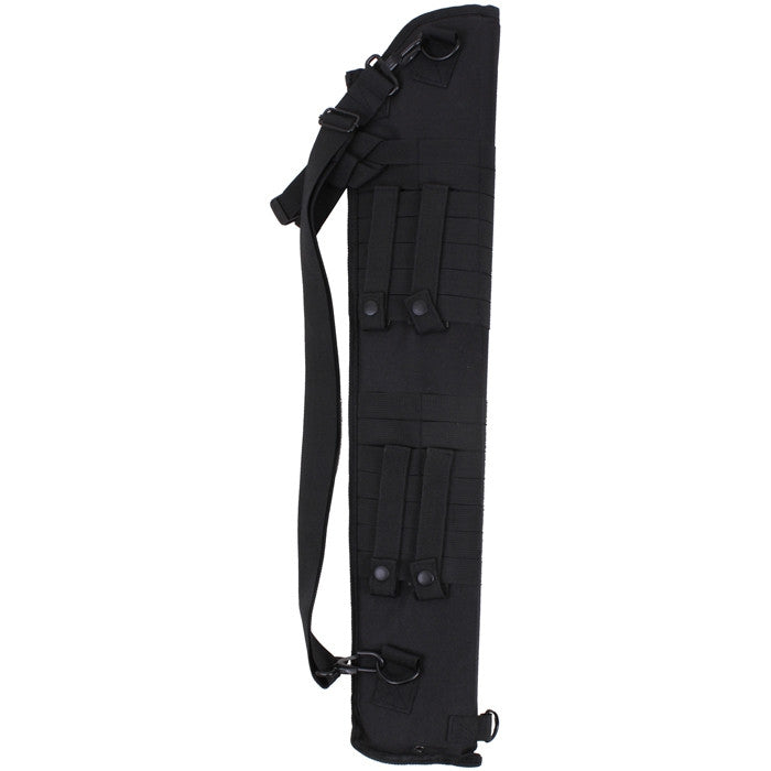 Black Tactical Shotgun Scabbard