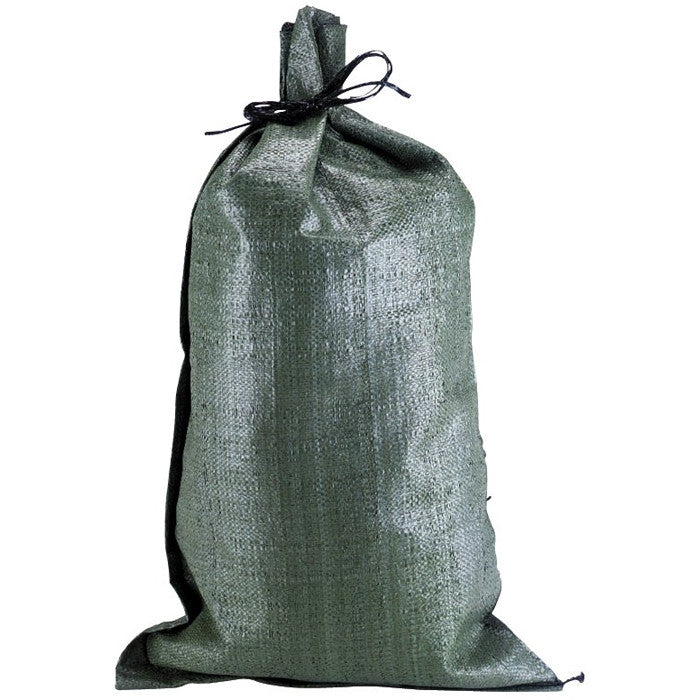 Military Heavy Duty Emergency Sand Bags - Olive Drab-100 pack