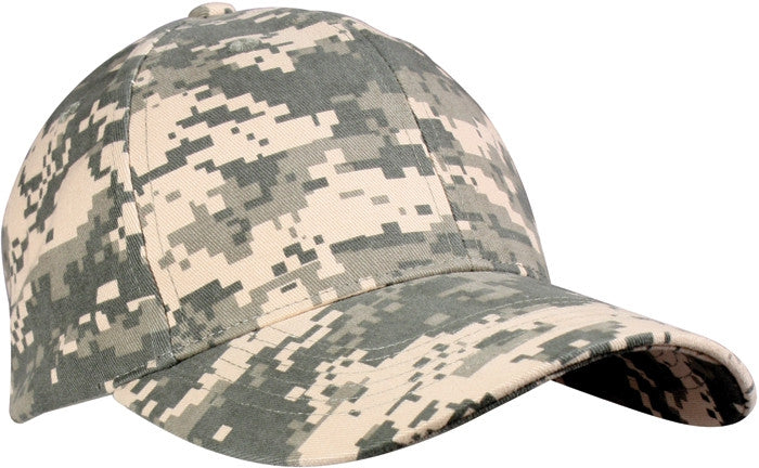 ACU Digital Camouflage - Military Low Profile Adjustable Baseball Cap