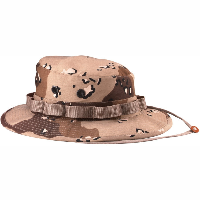 Desert Camouflage Six-Color - Military Boonie Hat