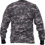 Subdued Urban Digital Camo - Military Long Sleeve T-Shirt
