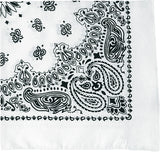 White - Trainmen Bandana 22 in. x 22 in.