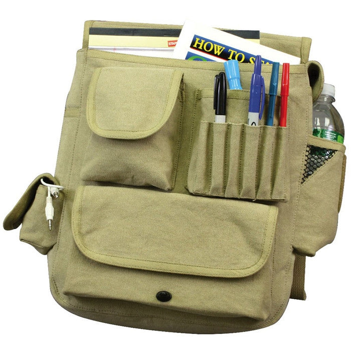 Khaki - Vintage M-51 Engineers Field Journey Bag