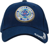 Navy Blue - US COAST GUARD Deluxe Adjustable Cap with Emblem
