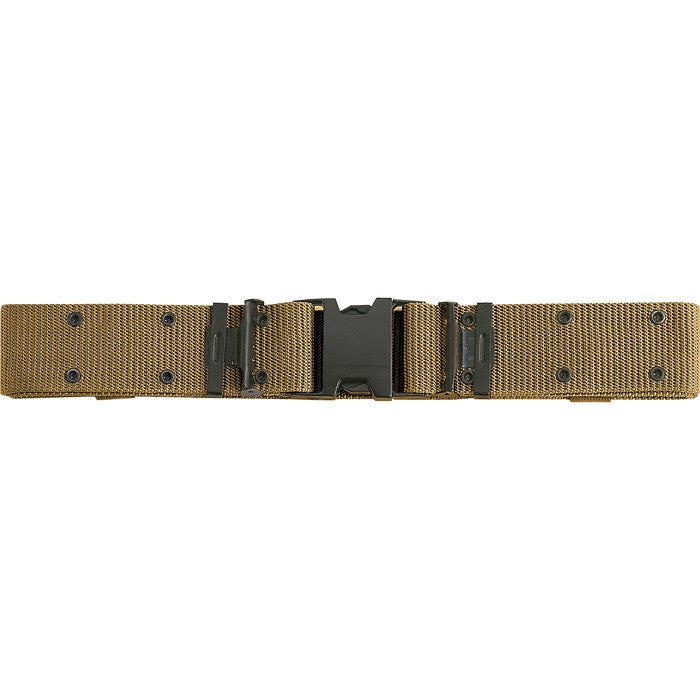 Coyote Brown - Marine Corps Style Quick Release Pistol Belt