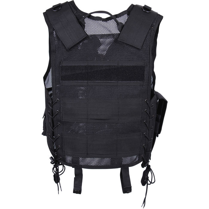 Black - Quick Draw Tactical Vest