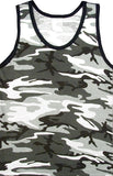 City Camouflage - Military Tank Top