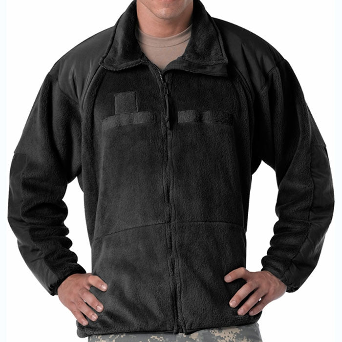 Black - Generation III Level 3 ECWCS Polar Fleece Jacket Liner