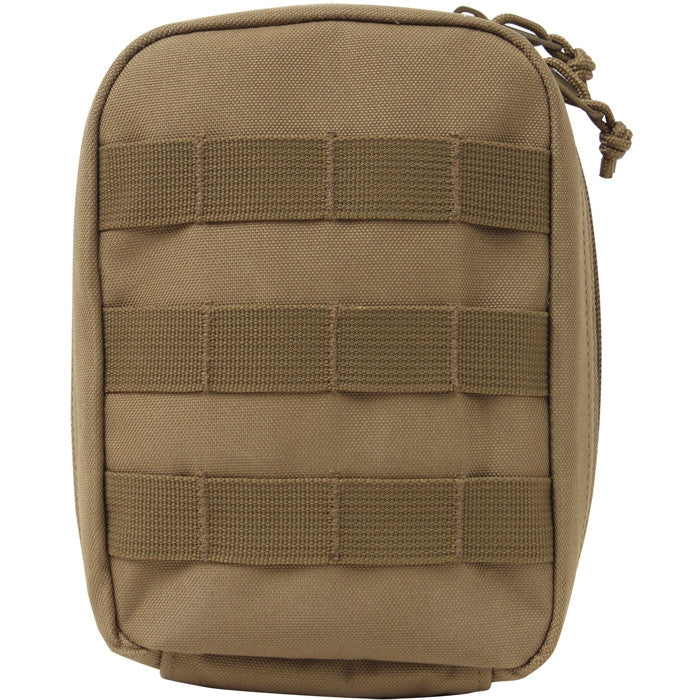 Coyote Brown - Tactical MOLLE Compatible First Aid Pouch