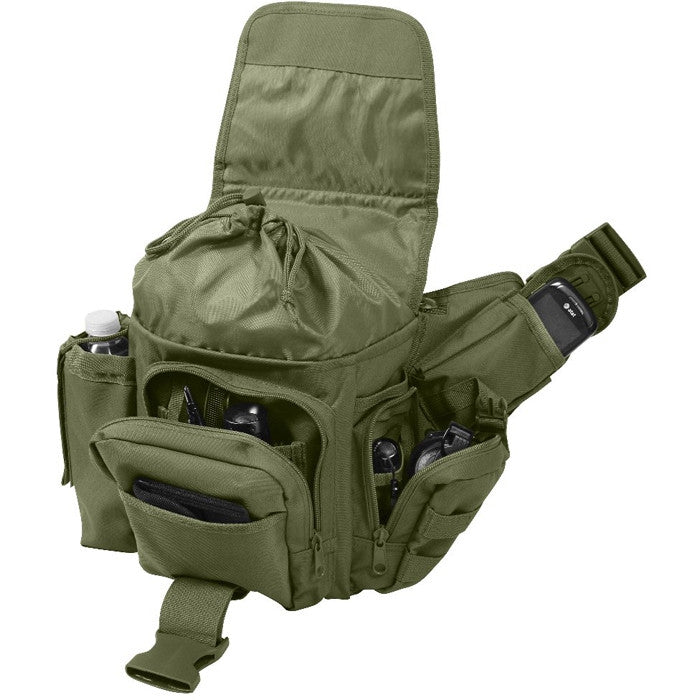 Olive Drab - Military MOLLE Compatible Advanced Tactical Shoulder Bag