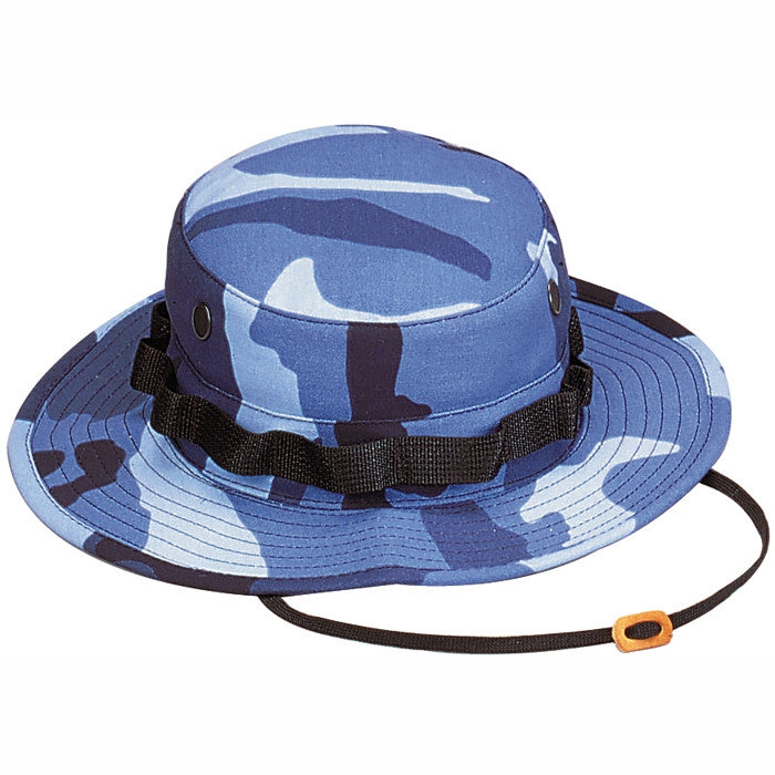 Sky Blue Camouflage - Military Boonie Hat