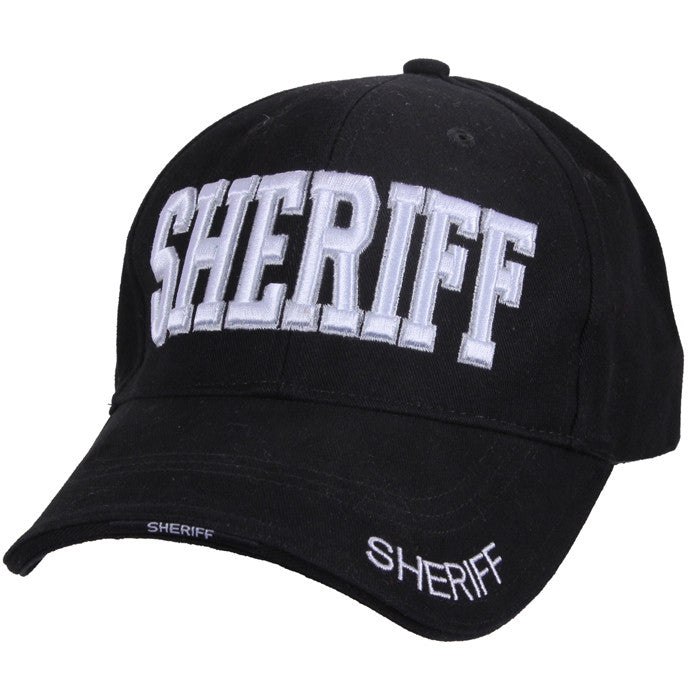 Black - Sheriff Adjustable Low Profile Cap