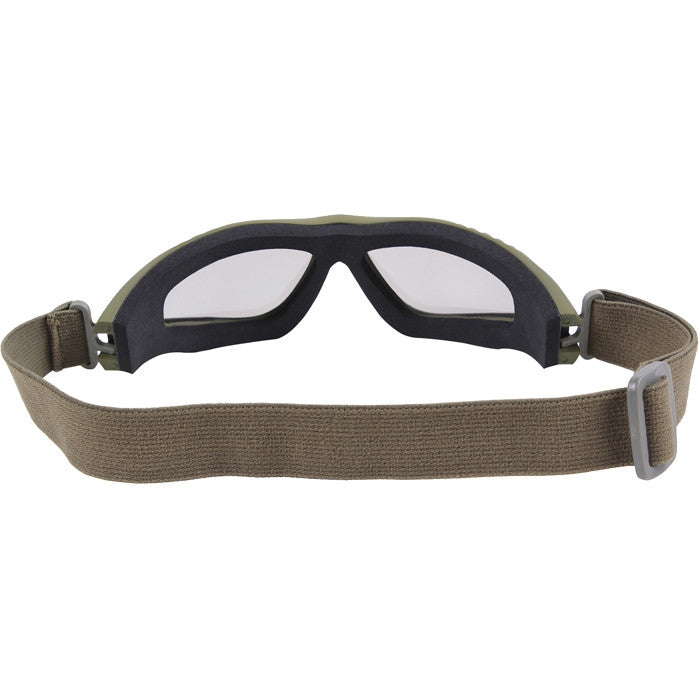 Olive Drab - VanTec Anti-Scratch Tactical Goggles