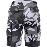 City Camouflage - Military Cargo BDU Shorts - Polyester Cotton Twill