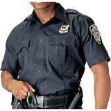 Navy Blue - Official Law Enforcement Uniform Shirt Short Sleeve