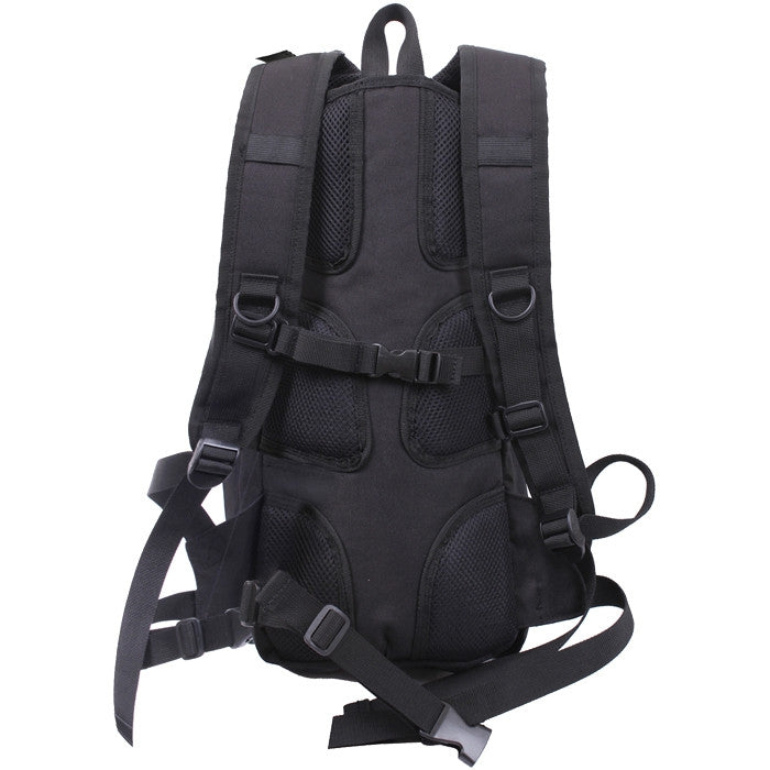 Black - Quickstrike Tactical Hydration Backpack